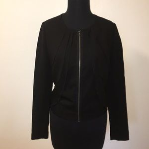 GAP Ruffle front blazer XS - New with tags!